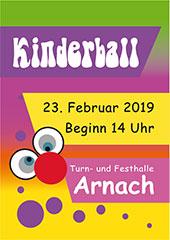 SV Arnach Kinderball 2019