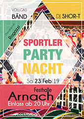 SV Arnach Sportlerball 2019