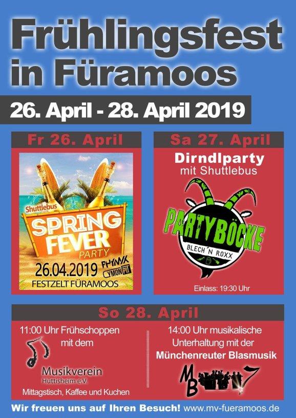 Frühlingsfest Füramoos
