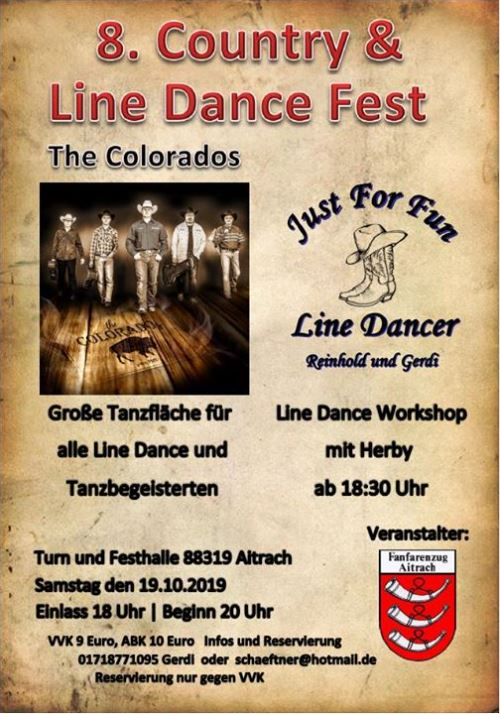 8. Country und Line Dance Fest Aitrach