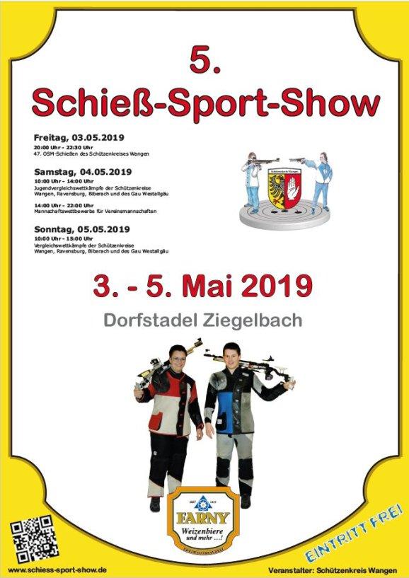 5. Schieß-Sport-Show in Ziegelbach