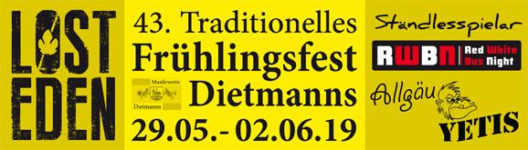 Frühlingsfest Dietmanns 2019