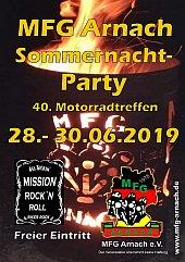 Motorradtreffen Arnach 2019