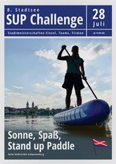 8. Stand-up-paddle Challenge am Stadtfest