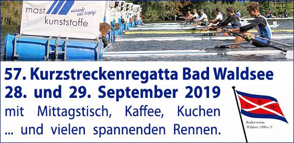 57. Kurzstreckenregatta Bad Waldsee