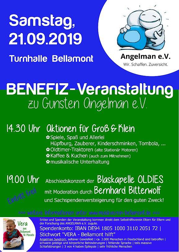 Benefizveranstaltung zu Gunsten Angelman e.V.