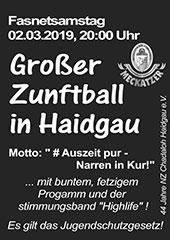 NZ Haidgau Zunftball 2019