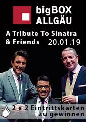 Verlosung bigBOX Sinatra Tribute